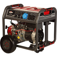 Бензиновый генератор Briggs&Stratton Elite 7500 EA однофазный